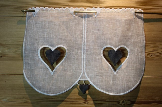 brise bise coeur gris. Black Bedroom Furniture Sets. Home Design Ideas