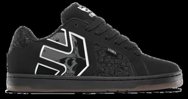 Grey Etnies Fader 2 Chaussures Metal Mulisha White Black MpVSUz