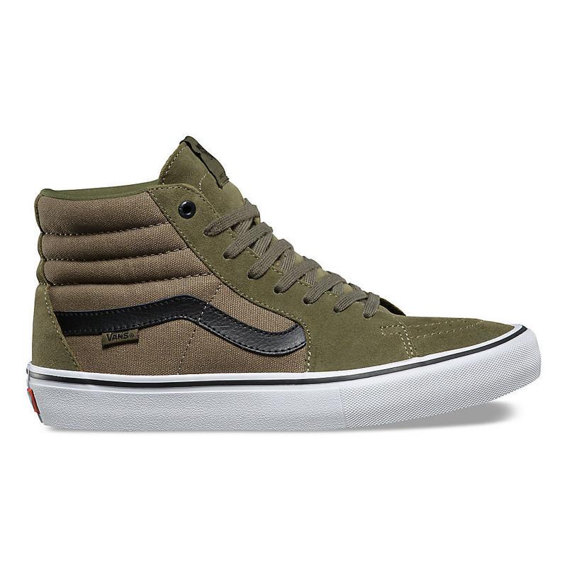 Pro Burnt Hi Olive Sk8 Ekilibr Vans Street Chaussures eWxBordC